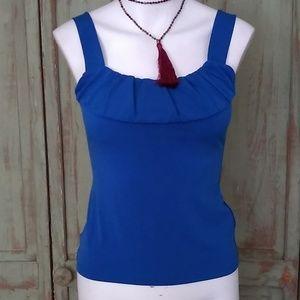 ⭐ 4 for $20 Ann Taylor blue tank top